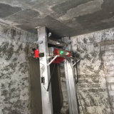 Máquina automática da rendição, máquina de pulverização do cimento, parede automática do cimento que emplastra a máquina