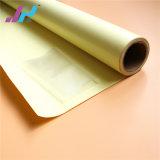 com a película fria autoadesiva da laminação do PVC do revestimento protetor branco