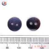 Venda por tipo de produto logotipos personalizados disponíveis dois furos com botão de metal para Shirt Antigo