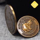 Fabrik-Preis-kundenspezifische Großhandelssilbermünze für Andenken-Geschenk