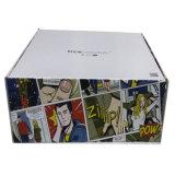 Caisse d'emballage personnalisée de tissu de papier de modèle