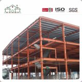 Estructura de acero constructiva de la construcción grande como oficina/fábrica/almacén