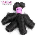 Yvonne virgem de qualidade superior da mola Remy Curly Fumi de cabelo humano