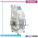 E-Light RF professionnel Opt SHR Q-Swiched Mutifunctional la beauté de la machine laser