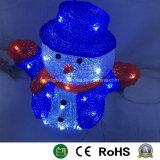 El muñeco de nieve Navidad Muñeco de emisores de luz