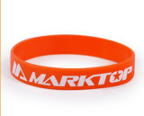 Подгонянный Wristband силикона логоса для конкуренции спортов