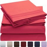 快適な刺繍によってブラシをかけられるMicrofiberの寝具シート