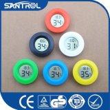 Registrador circular de la temperatura y de la humedad del botón