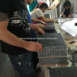 Черная плитка мозаики Marquina мраморный каменная для украшения стены