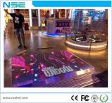 DJのディスコのパネルのタイル携帯用3DはガラスをつけるP6.25ダンス・フロアのLED表示を強くした