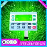 Прозрачные окна светодиодный индикатор на ощупь рельефным кнопки мембранный переключатель