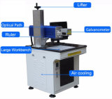 Gewebe-lederne Drucker CO2 Laser-Markierungs-Maschine