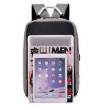 A nova fábrica de fabricante de chegada da escola do aluno de carregamento USB mochila mochila USB do computador portátil de negócios