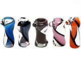Tazones de fuente femeninos de cristal del tazón de fuente del Hitman con el panal Perc para los tubos de tabaco que fuman los accesorios