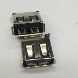 USB 2.0 a/F conetor do preto do MERGULHO de 180 graus