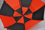 30 بوصة 8 ألوان [دووبل لر] لعبة غولف مظلة, [فيبرغلسّ] إطار