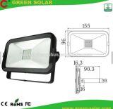 Luz de inundación al aire libre Emergency del trabajo LED de la batería recargable con el panel solar