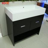 Künstliche feste Oberflächenbadezimmer-Eitelkeit (170508) kundenspezifisch anfertigen
