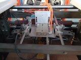 Cantos rígidos automáticos da caixa quatro do servocontrol que colam a máquina