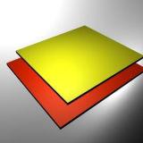 1220*2440*4*0,4 мм нано-ПВДФ алюминиевых композитных панелей