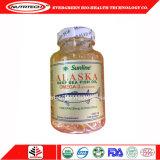 Alaska-Fisch-Öl Softgel kapselt Fisch-Öl-Ergänzung Omega-3 ein