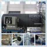 Pipe en plastique d'enroulement de spirale de polyéthylène faisant la machine d'extrudeuse