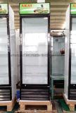 R134A Merchandiser van de Deur van het Glas van het koelmiddel de Enige Controle van de Temperatuur van de Ijskast Digitale