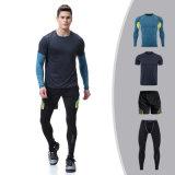 Sportswear гимнастики 4PCS/Set идущих одежд износа пригодности людей зимы Высок-Эластичный