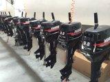 Оптовый двигатель шлюпки хода забортного двигателя 2 цены по прейскуранту завода-изготовителя 9.8HP