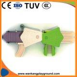 Спортивной площадки игрушки темы джунглей оборудование игры пластичной напольное для школы (WK-A1016)