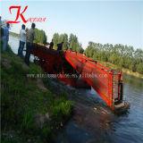 Kedaのディーゼル機関の販売のための動力を与えられたフルオートマチックの水生Weedの収穫機