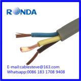 3 cabo elétrico flexível do sqmm do núcleo 6
