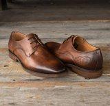Los hombres vestido de novia zapatos hechos a mano Casual de hombre zapatos de cuero