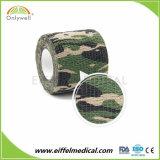 Fasciatura coesiva elastica di vendita calda da Cotton o non tessuta