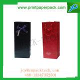 Sacchetto impermeabile del cartone personalizzato professionista con la maniglia della corda