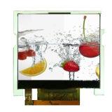 Visualizzazione dell'affissione a cristalli liquidi con lo schermo di tocco capacitivo + software compatibile