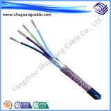 Cu entièrement Screened/PE câble d'Insulated/PVC engainée/blindé/ordinateur/instrumentation