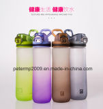 Bottiglia di acqua variopinta della plastica del regalo di alta qualità creativa di stile