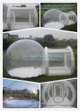 De openlucht het Kamperen Duidelijke Opblaasbare Tent van de Bel met Tunnel voor Verkoop