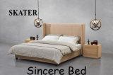 Sk20 미국식 침실 직물 침대