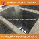 Plaque de recouvrement de carbure de chrome pour le matériel mobile