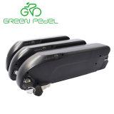 Greenpedel Ds6 36V 48V Downtubeのタイプ18650セル電気バイクリチウムイオン電池