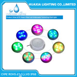 Resistente al agua IP68 Cambio de color de la piscina LED Light Underwater Light con llenos de resina
