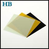 إيبوكسي زجاج نضيدة مع صفراء/طبيعيّ/لون أسود