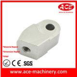 Mecanizado CNC de aluminio anodizado azul