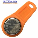 De Sleutel van identiteitskaart van bestuurders iButton met Oranje Kleur voor GPS Queclink Volgende Apparaten