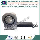"""Mecanismo impulsor de la ciénaga del sistema del picovoltio del panel solar de ISO9001/Ce/SGS 8 """" con el motor con engranajes"""