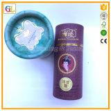 Verpakking van de Luxe van de douane de In reliëf gemaakte Kosmetische Embleem