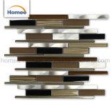 Neue Entwurfs-Küche Backsplash Glasmischaluminiummosaik-Fliese