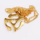 أمريكا نجم نمو مجوهرات [ستينلسّ ستيل] مدلّاة نوع ذهب عقد